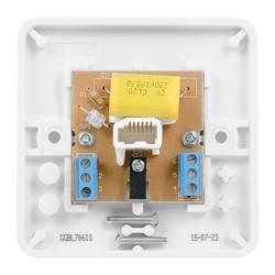 Schneider Electric Lisse Telephone Socket