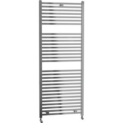 Cassellie Lindley Straight Designer Radiator 1420 x 500mm Chrome 1860Btu - 38984 - from Toolstation
