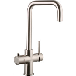 Reginox Reginox Boiling Water Tap 3-in-1 Brushed Nickel - 39019 - from Toolstation