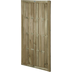 Forest Forest Garden Hit & Miss Vertical Gate 180cm (h) x 90cm (w) x 4.5cm (d) - 39057 - from Toolstation