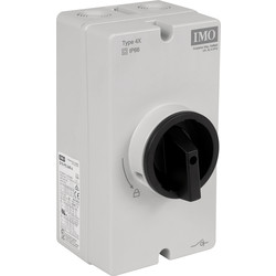IMO IMO DC Rotary Isolator 32A 600VDC Single String - 39105 - from Toolstation