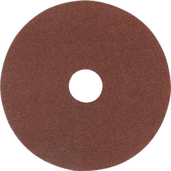 Fibre Sanding Disc 180mm 60 Grit