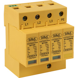 Surge Protection Devices Surge Arrester Type 1+2+3 TP+N - 39161 - from Toolstation