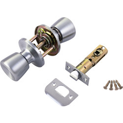 ERA ERA Door Knob Set Passage Satin - 39169 - from Toolstation