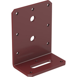 Powapost Dual Coated Timber Fixing Bracket 85 x 40 x 75mm wide - 39208 - from Toolstation