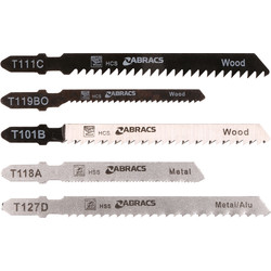 Abracs Abracs Bayonet Jigsaw Blade Set  - 39209 - from Toolstation