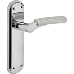 Hafele Tantalus Door Handles Latch Twin Tone - 39244 - from Toolstation
