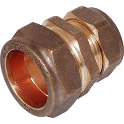 Compression Reducing Coupler 22 x 15mm  - 39329 - from Toolstation
