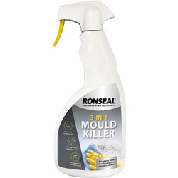 Ronseal Ronseal 3 in 1 Mould Killer Spray 500ml - 39347 - from Toolstation