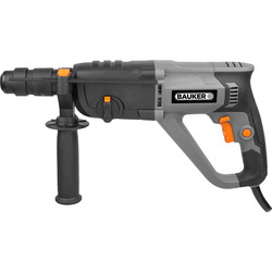 Bauker 1100W 3 Function SDS Plus Hammer Drill 240V