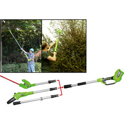 Greenworks 40V Polesaw & Pole Hedge Cutter