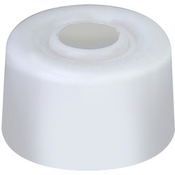 White PVC Door Stop White - 39511 - from Toolstation