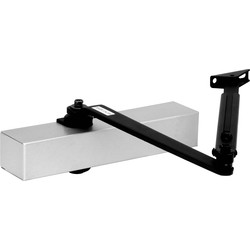 Eclipse Ironmongery Door Closer Size 2-4 Silver - 39557 - from Toolstation