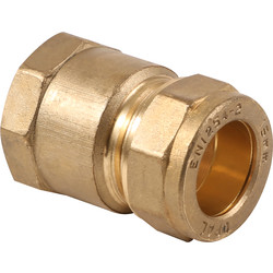 "Made4Trade Made4Trade Compression Coupler Female 15mm x 1/2"" - 39623 - from Toolstation"