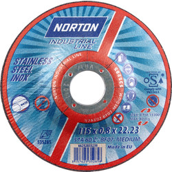 Norton Ultra Thin Disc 115 x 0.8 x 22mm - 39737 - from Toolstation