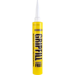 Evo-Stik Gripfill Solvent Free 350ml - 39773 - from Toolstation