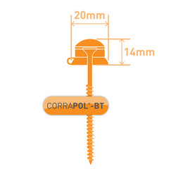 Corrapol-BT Screw Cap Fixings