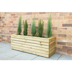 Forest Forest Garden Linear Planter - Long 44cm (h) x 120cm (w) x 40cm (d) - 39859 - from Toolstation