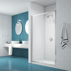 Merlyn Nix Merlyn NIX Sliding Shower Enclosure Door 1700mm - 39908 - from Toolstation