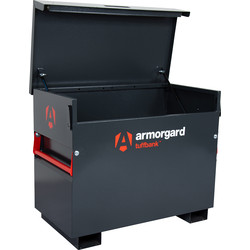 Armorgard Armorgard Tuffbank Site Box 1150 x 615 x 930mm - 39914 - from Toolstation