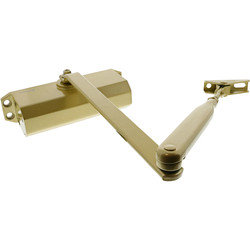 Briton Briton 121CE Door Closer Gold Size 3 - 39934 - from Toolstation