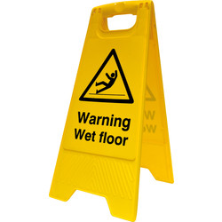 Caution A-Board Wet Floor