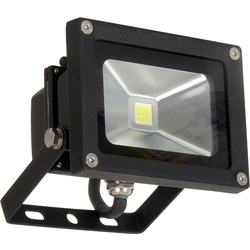 Meridian Lighting LED IP65 Floodlight 10W 820lm - 40327 - from Toolstation