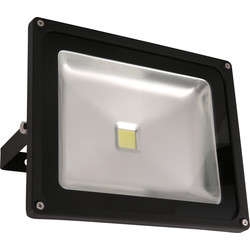Meridian Lighting LED IP65 Floodlight 50W 3350lm - 40369 - from Toolstation