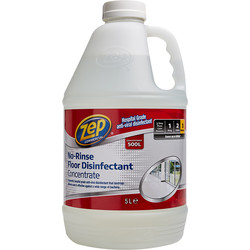 Zep Zep Commercial Hospital Grade No Rinse Floor Disinfectant 5L - 40417 - from Toolstation