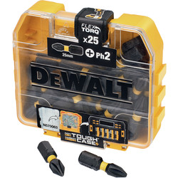 DeWalt DeWalt Impact Torsion Screwdrivers Bits Ph2 - 40432 - from Toolstation