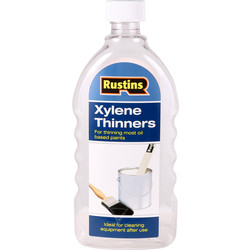 Rustins Rustins Xylene Thinner 500ml Clear - 40443 - from Toolstation