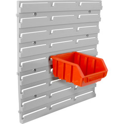 Ergobox Storage Bins Panel Rack 350 x 386mm - 40549 - from Toolstation