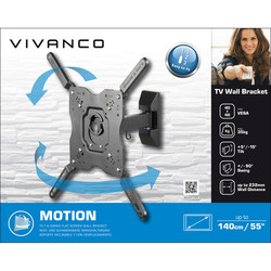 Vivanco Tilt & Swing TV Wall Mount Bracket