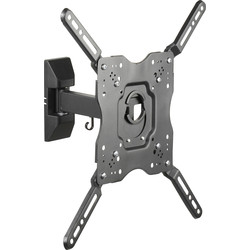 "Vivanco Vivanco Tilt & Swing TV Wall Mount Bracket Medium Up To 55"" - 40574 - from Toolstation"