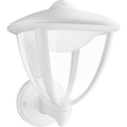 Philips Philips LED Robin Outdoor Wall Lantern IP44 4.5W White 430lm - 40589 - from Toolstation