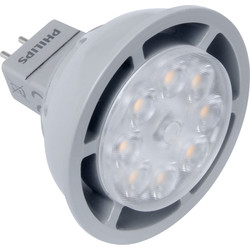 Philips Philips LED 12V Dimmable Lamp MR16 6.5W 390lm A - 40630 - from Toolstation