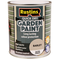 Quick Dry Garden Paint 750ml Barley