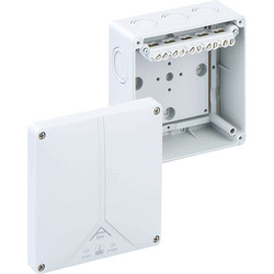 Junction Boxes IP65 With 5 Pole Term Block - 40671 - from Toolstation
