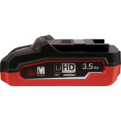 Metabo 18V Li-Ion High Demand Battery 3.5Ah
