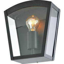 Artemis Artemis E27 IP44 Box Lantern Black - 40776 - from Toolstation
