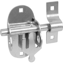 Oval Padlock Bolt Zinc Plated - 40823 - from Toolstation