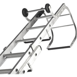 Lyte Ladders Lyte Roof Ladder 2 Section, Open Length 5.64m - 40850 - from Toolstation