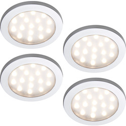 Sensio Sensio Pinto LED Round Under Cabinet Light Kit 24V Warm White - 40893 - from Toolstation
