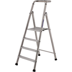 TB Davies TB Davies Pro Probat Platform Step Ladder 4 Tread SWH 2.6m - 40973 - from Toolstation