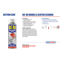 Action Can BC-90 Solvent Cleaner