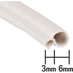 Stormguard Stormguard uPVC Universal Seal White 20m - 41061 - from Toolstation