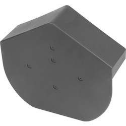 Dry Verge Angled Cap Grey - 41075 - from Toolstation