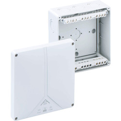 Junction Boxes IP65 With 5 Pole Term Block - 41122 - from Toolstation