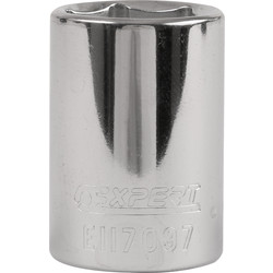 Expert by Facom Expert by Facom 6 Point 1/2 Inch Standard Socket 19mm - 41171 - from Toolstation