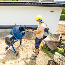 Scheppach MIX140 550W 140L Concrete Mixer